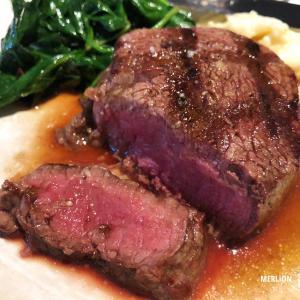 ラッフルズでディナー!最高級ステーキ「ブッチャーズ・ブロック」