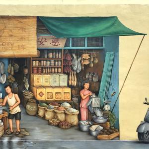 アート散歩「Yip Yew Chong」壁画で巡るシンガポール原風景への追憶