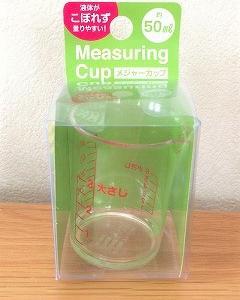 メジャーカップ(計量カップ)inセリア
