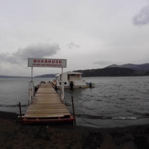 爆風の山中湖