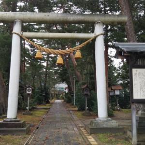 今日は新潟県上越市で神社巡りと戸隠神社