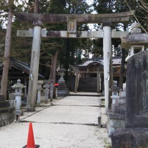 肥田八劔神社(岐阜県土岐市)