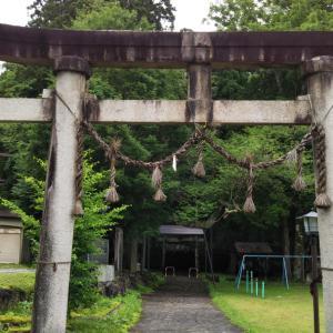 細野諏訪神社(長野県北安曇郡白馬村)