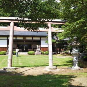 松川神社(長野県北安曇郡松川村)