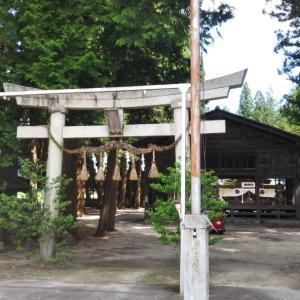 大和田神社(長野県北安曇郡松川村)