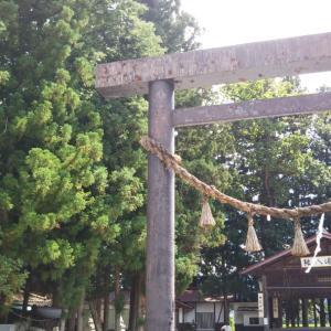 一本木神社(長野県大町市)