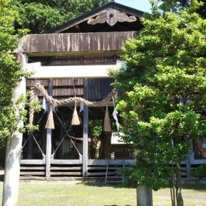 須沼神明社(長野県大町市)