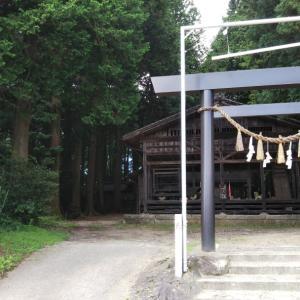 三嶋社  神明社(長野県大町市)