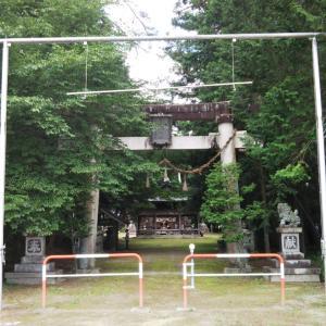 八王子神社(長野県大町市)