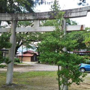 鈿女神社(長野県北安曇郡松川村)