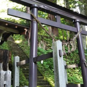 大宮諏訪神社(長野県北安曇郡小谷村)
