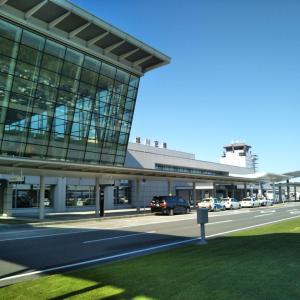 旭川空港から出発
