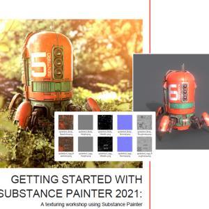 GettingStarted SubstancePainter2021メモ(8)テクスチャのエクスポートとIrayレンダリング