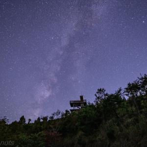 10月に星を撮りに鶴姫公園に行きました2
