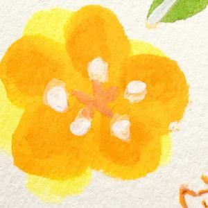 「花の香りのする丘で」シリーズ ミニ原画2