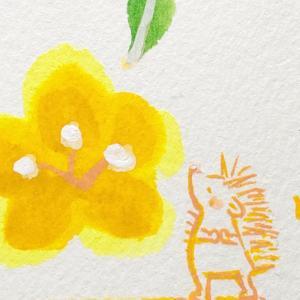 「花の香りのする丘で」シリーズ ミニ原画3