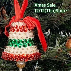 クリスマスセール開催します
