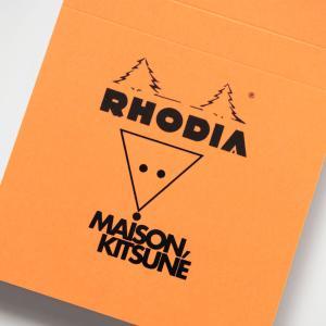 UOMO2019年12月号の付録はメゾンキツネコラボのロディアメモパッド!キツネマークがかわいいNo.11です【レビュー】