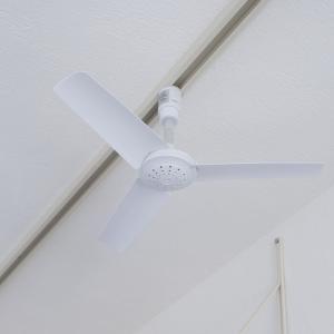 【レビュー】BRID ダクトレール用シーリングファンは簡単に取り付けられるからオススメ(回転音は大きめ)