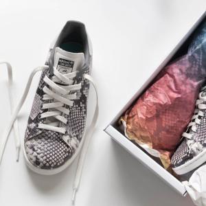 adidas スネーク柄スタンスミスを購入しました!定番モデルの派生モデルは使いやすい【レビュー】
