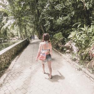 南国の緑の中を歩くと出逢う気持ち。