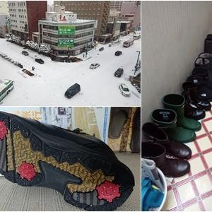 今年の旭川はもう根雪??