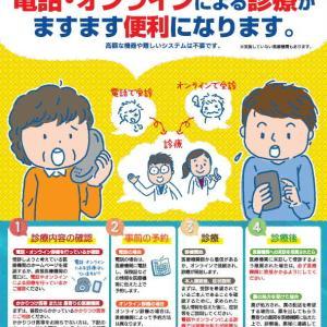 医療機関が電話やオンラインによる診療を行う場合の手順