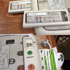 AEDのバッテリー等の交換