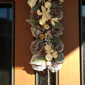クリスマス用ドア飾り