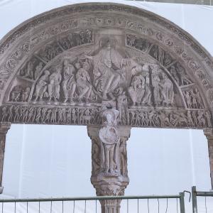 フランス旅行 4日目①【ヴェズレー観光、サント・マドレーヌ大聖堂】