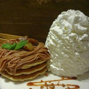 ☆東京 銀座☆Eggs 'n Things(モンブランパンケーキ)