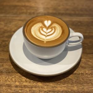 美味しいカフェラテ cafe634(洗足池)