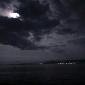 満月、大潮、今シーズンのアオリイカ最終。