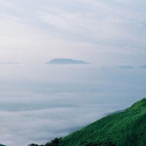 雲と戯れる
