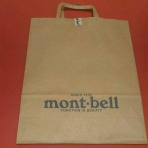 モンベルポイントの貯め方|紙袋不要と申し出て10ポイント貰おう!