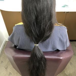 ヘアードネーション!髪の毛を寄付しませんか?
