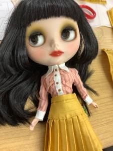 お人形講座 momoko
