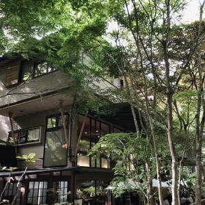 森の中のカフェ「了庵」さんへ