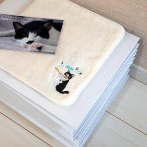 ソラちゃん刺繍ハンドタオル発送完了★保護猫チャリティー企画
