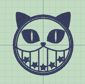 デニムに合う猫刺繍★その後