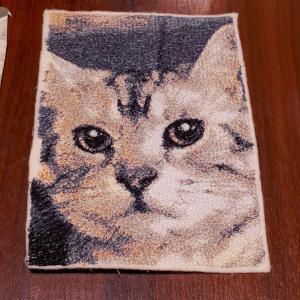 猫とミシン刺繍が大好き★念願のプチオフ会