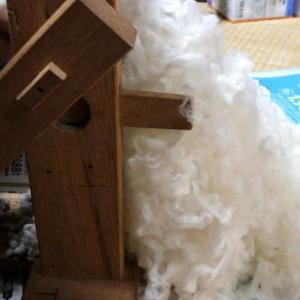 綿繰り作業と綿作り