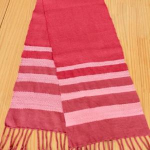 手織り教室 再開第1作品