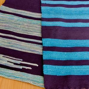 初めての手織り作品が出来ました