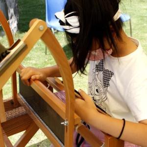 手織り体験をしたいんです