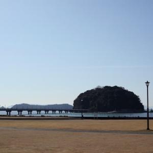 今日の竹島クラフトセンター、教室が終われば夕日の絶景が