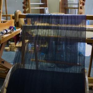 織屋さんから貰った織機のビーム