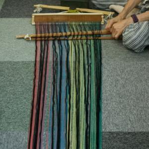 経糸の準備は出来た、さあ何を織ろうか