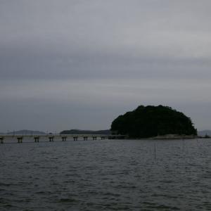 今日も夕暮れの竹島から投稿