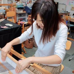 一人旅は竹島で三河木綿の手織り体験